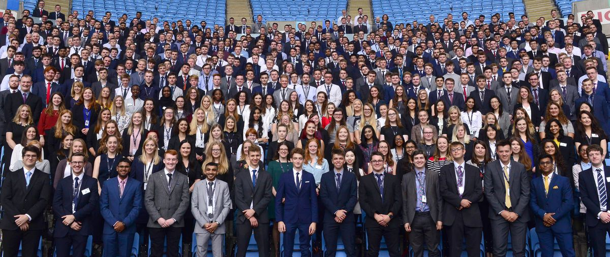 Jaguar Land Rover has opened its 2019 apprenticeship programme, with these 500 youngsters starting in this year's class, learning on the job