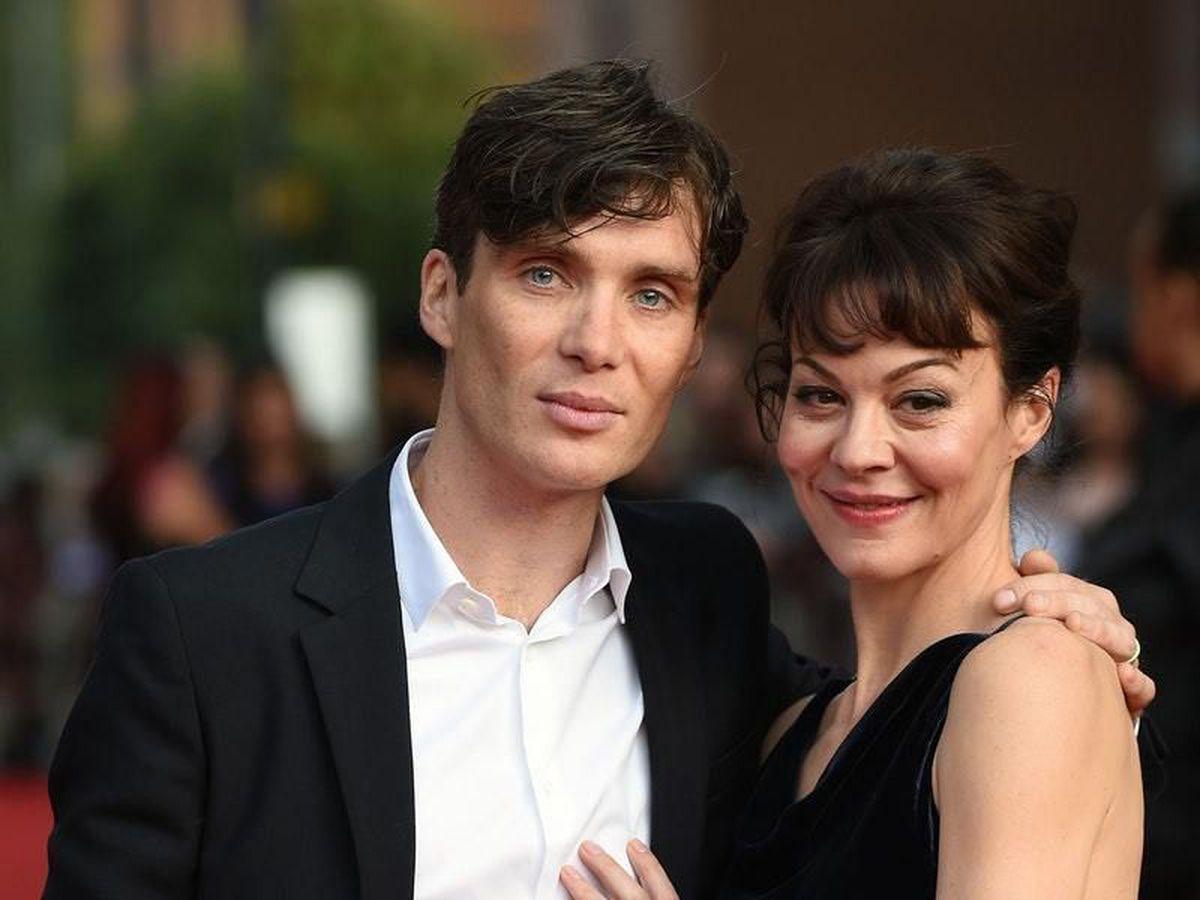 Helen McCrory alongside Peaky Blinders co-star Cillian Murphy