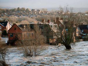 Flooding in Ludlow last year