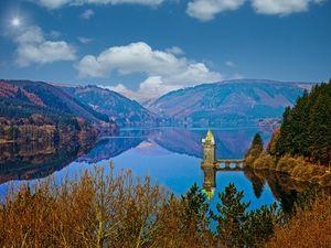 Lake Vyrnwy Reservoir in Wales. Photo: Richard Kyte