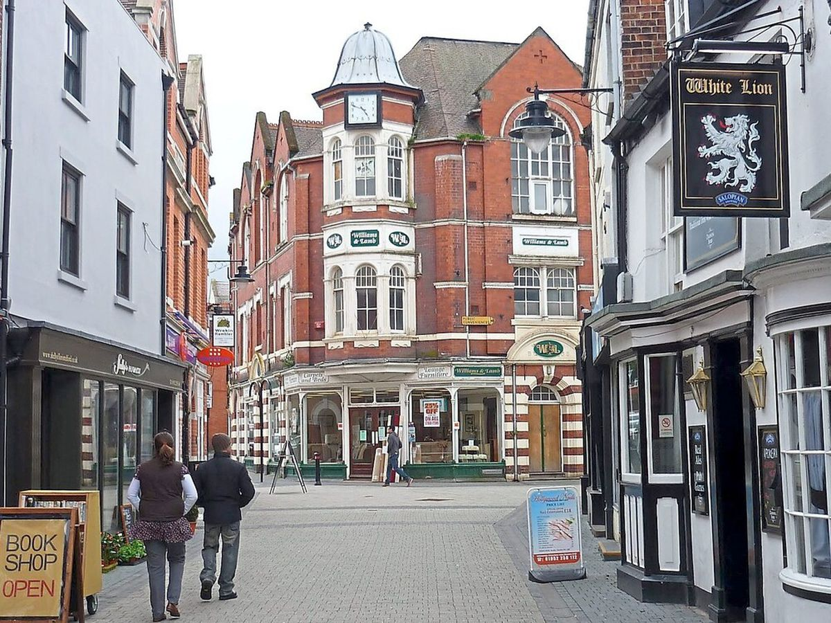 Wellington will be among the high streets to receive part of the funds