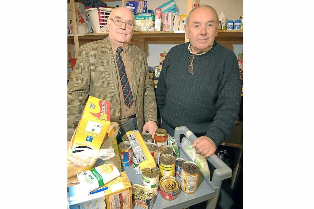 Sharp Rise In Number Using Shrewsbury Food Bank Shropshire