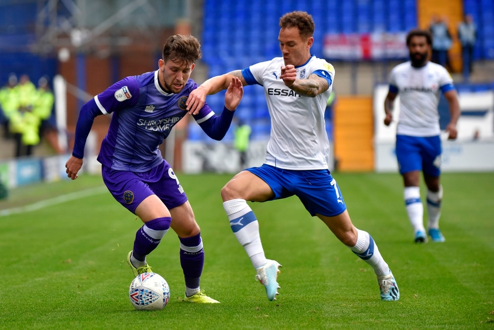 Shrewsbury's Callum Lang sidelined for three months after metatarsal surgery