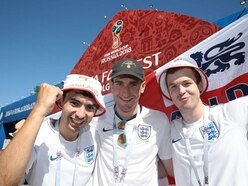 England fans hail Russian welcome despite feeling outnumbered in Volgograd