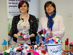 Oswestry knitters make 3,000 hats for Age UK winter campaign