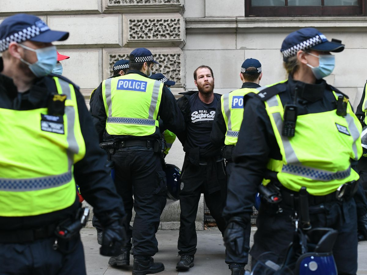 Anti-lockdown protest