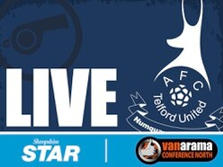 AFC Telford 1 FC United of Manchester 0 - As it happened