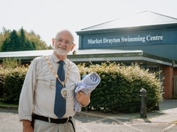 Market Drayton's pool will reopen when it is safe, mayor vows