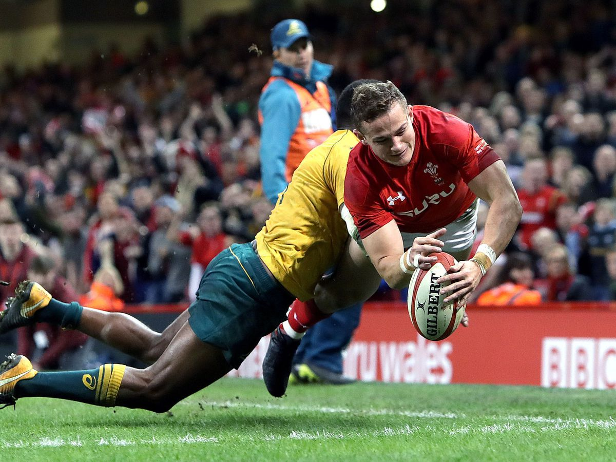 Wales full-back Hallam Amos