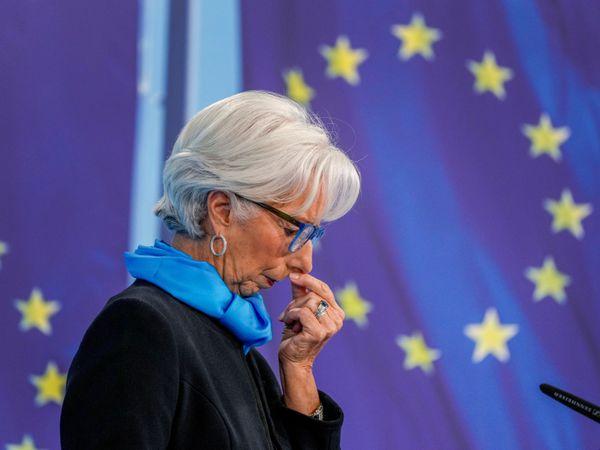 President of European Central Bank Christine Lagarde