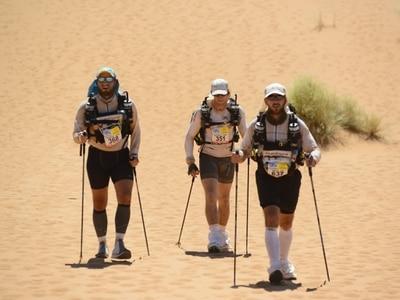 Former Shropshire man conquers marathon desert trek