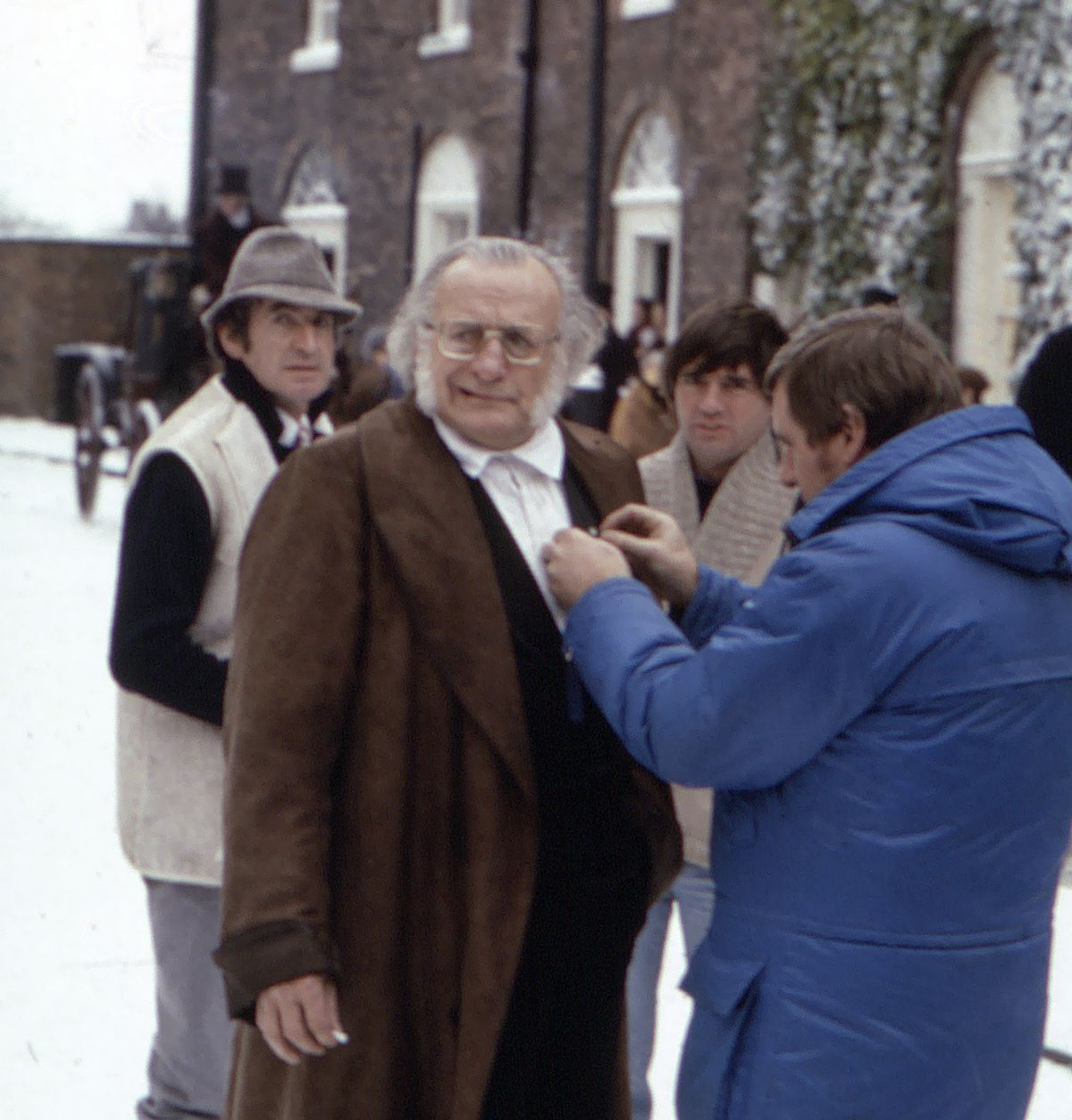 George C Scott called in while filming A Christmas Carol in 1984