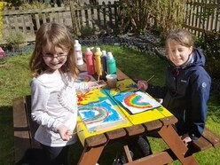 GALLERY: Little ones bring colour to Shropshire and Mid Wales with rainbow creations