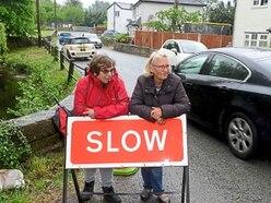 Residents fears over rat run danger road near Oswestry