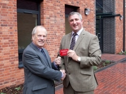 Keys to new university block handed over at Shrewsbury Tannery site