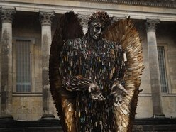 Knife Angel in Telford 'will help turn the tide of violence'