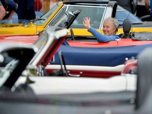 More than 100 classic cars go on display near Shrewsbury - with video