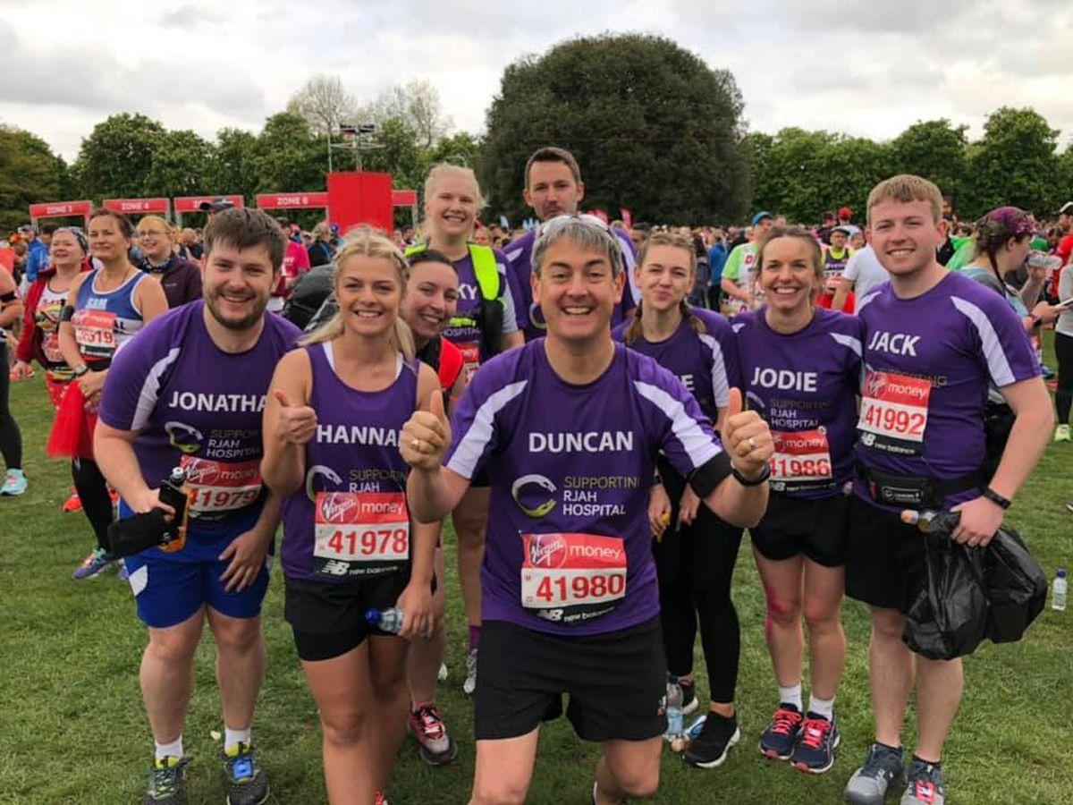 Oswestry Orthopaedic runners