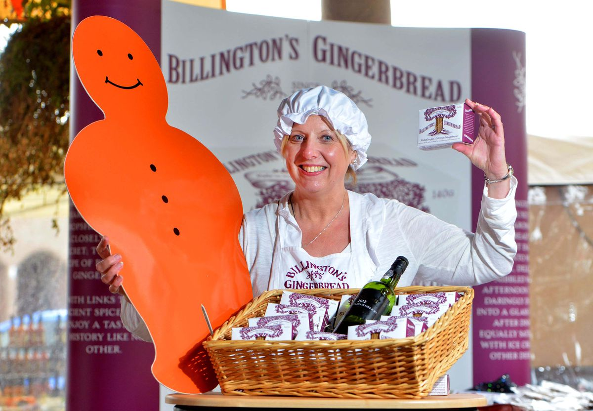 Billingtons Gingerbread at the Ginger and Spice Festival in Market Drayton back in 2017
