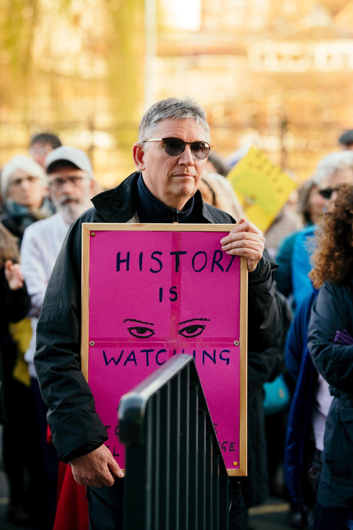 A demonstrator