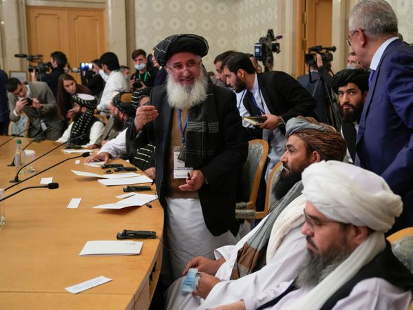 The Taliban delegation in Moscow