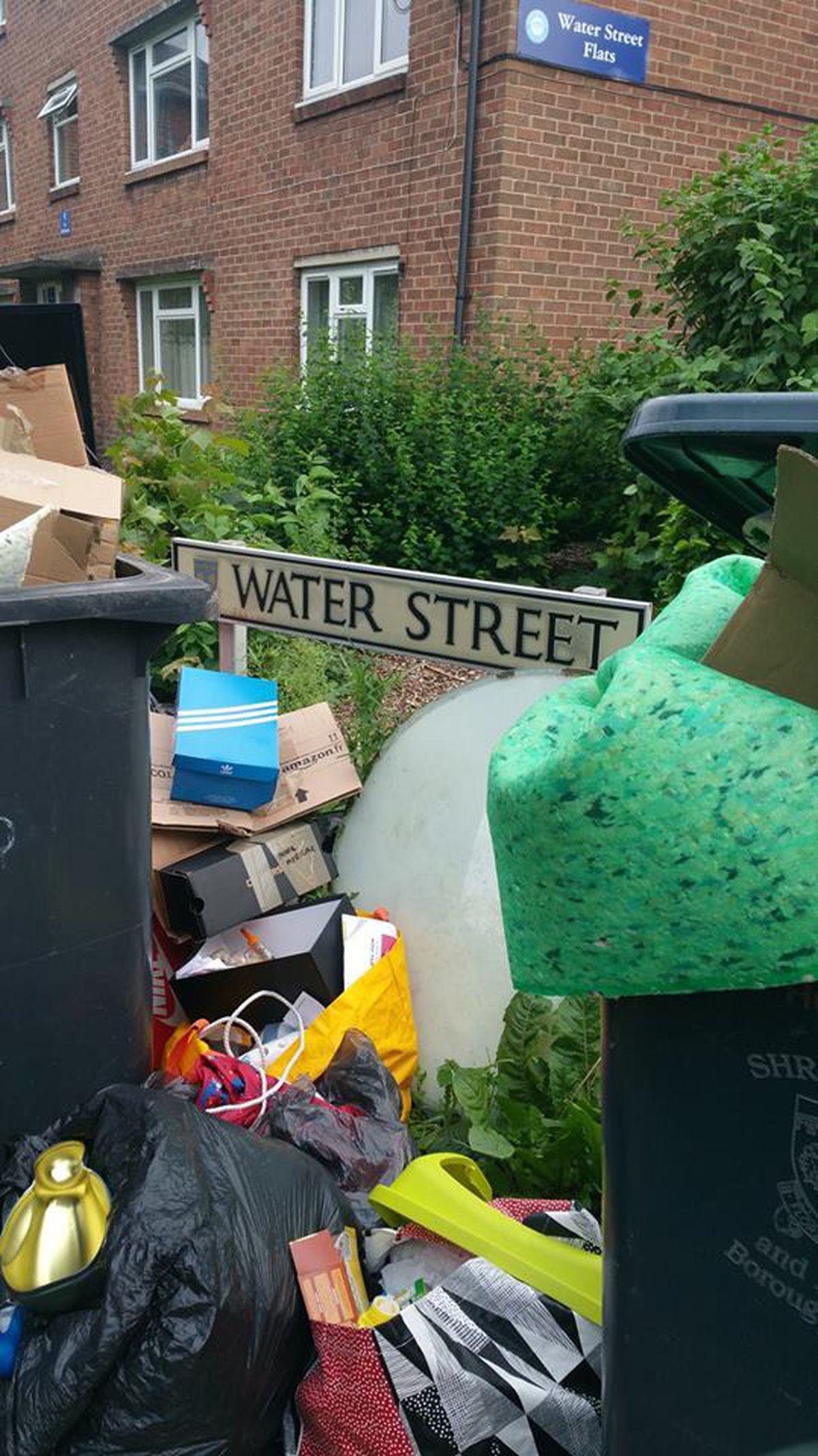 Water Street in Shrewsbury