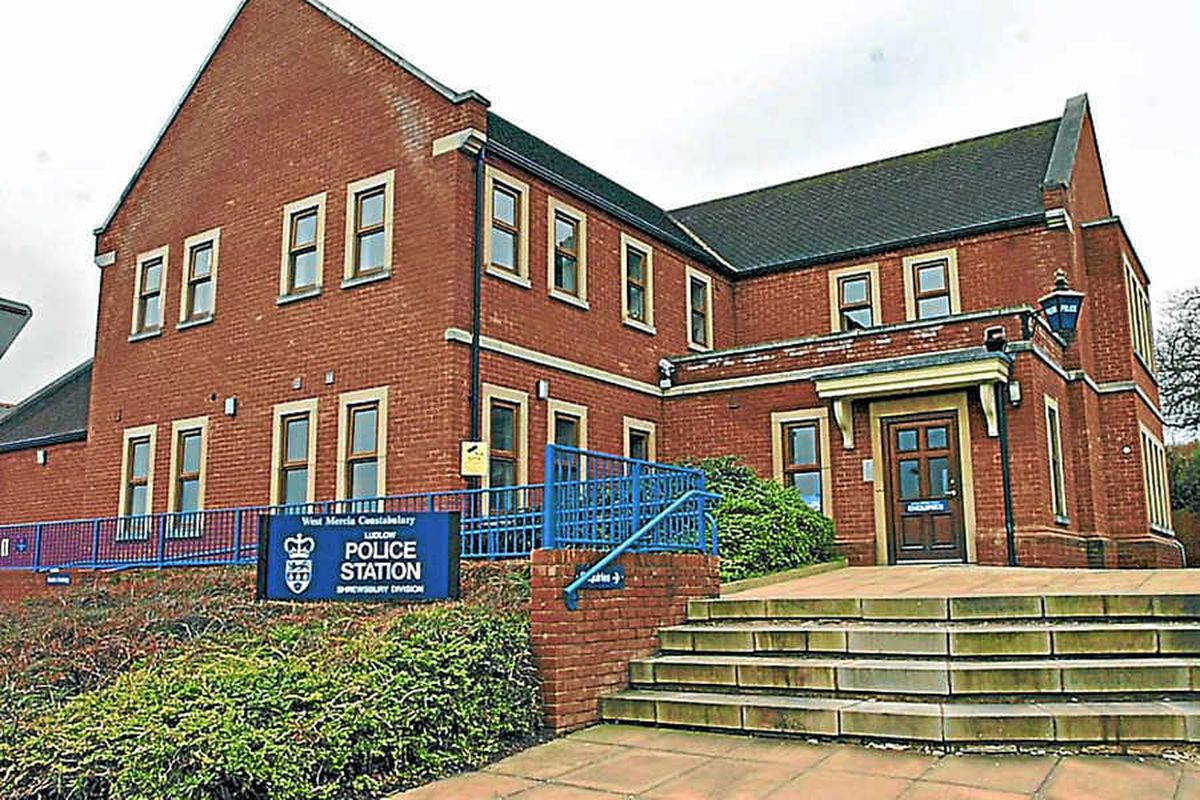 Officers returning to Ludlow Police Station