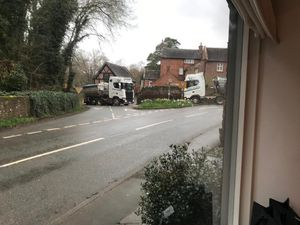 Residents say the narrow roads of Condover are unsuitable for heavy goods vehicles