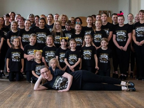 Tap dancers rally together in world record bid