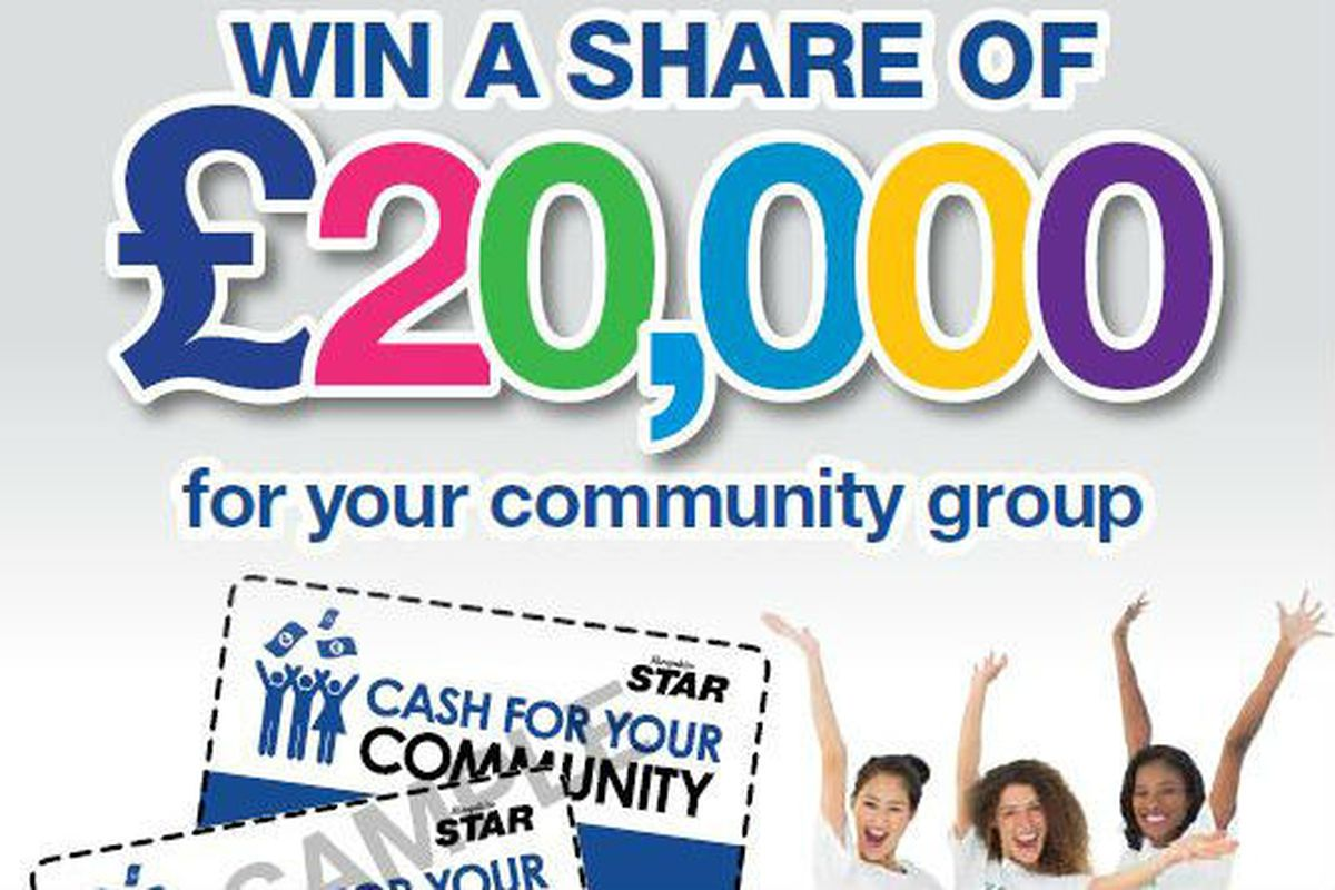 The £20,000 fund has been shared out
