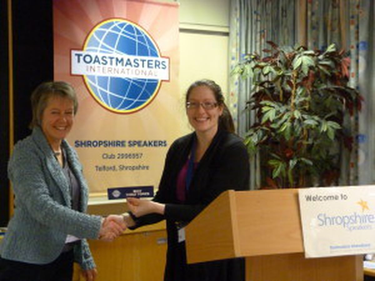 Sam receives an award for her efforts – picture by Jim Hawkins