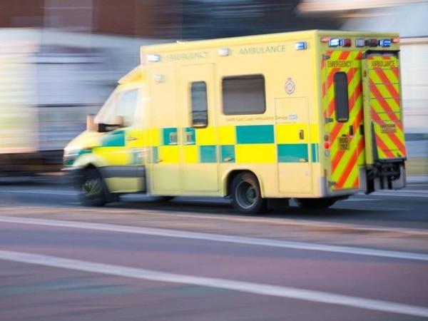 Three people taken to hospital after Shrewsbury crash