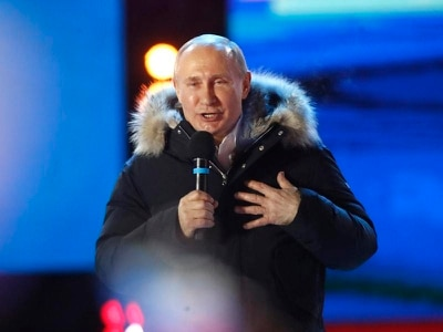 Vladimir Putin claims victory with rivals trounced in Russian election