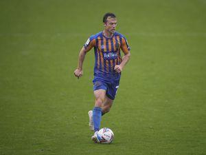 Shaun Whalley of Shrewsbury Town.