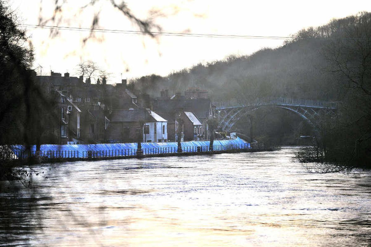 Flooding hits trade but Ironbridge World Heritage Site remains open