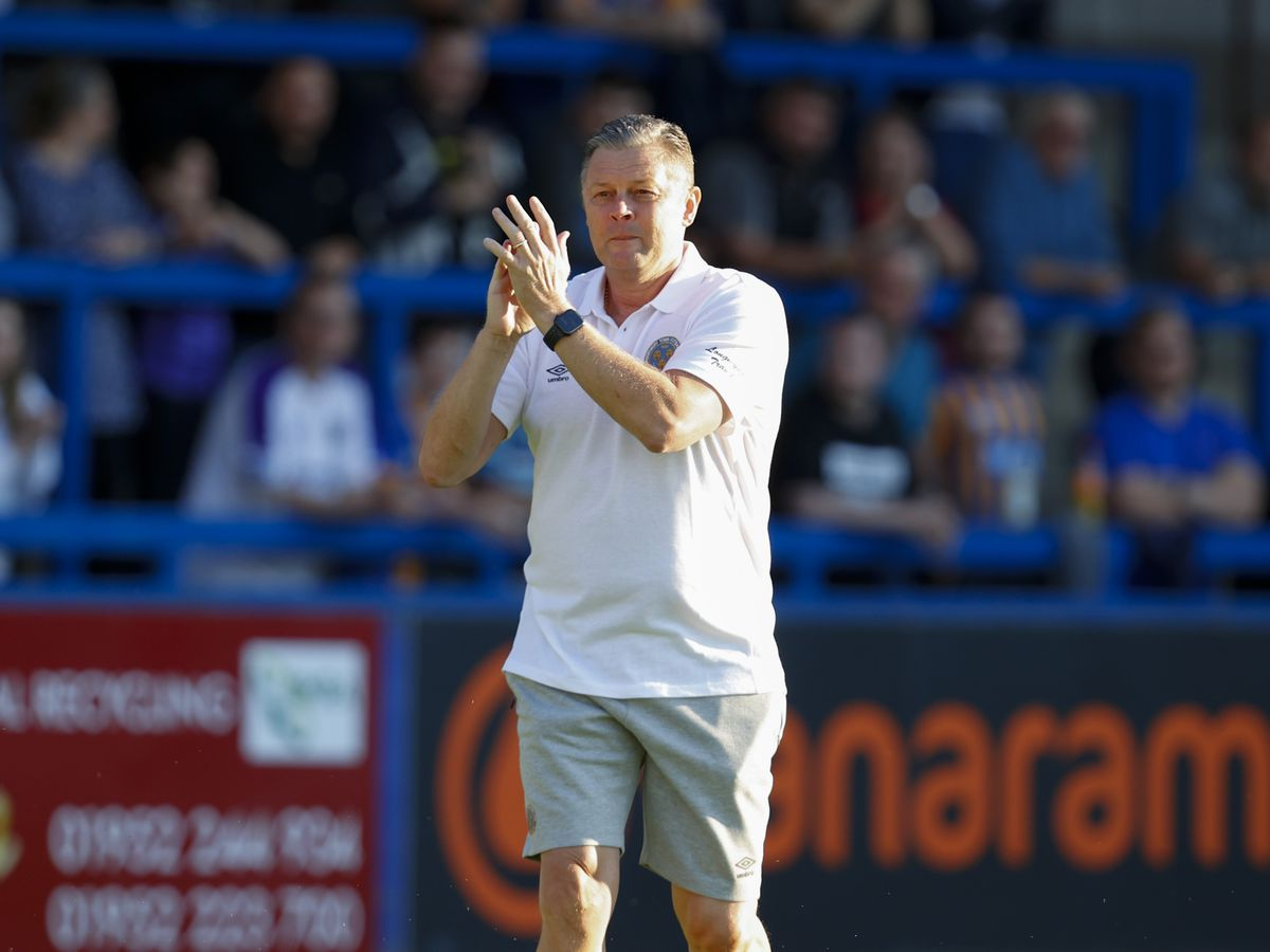 Shrewsbury Town manager Steve Cotterill is urging fans to take advantage of the opportunity to get jabbed at the pop-up clinic