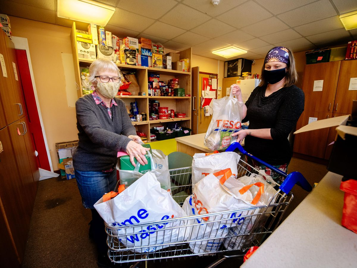 Ludlow Food Bank helps around 100 people per month