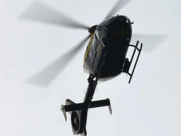 Five arrests and gun seized after Shropshire police helicopter chase