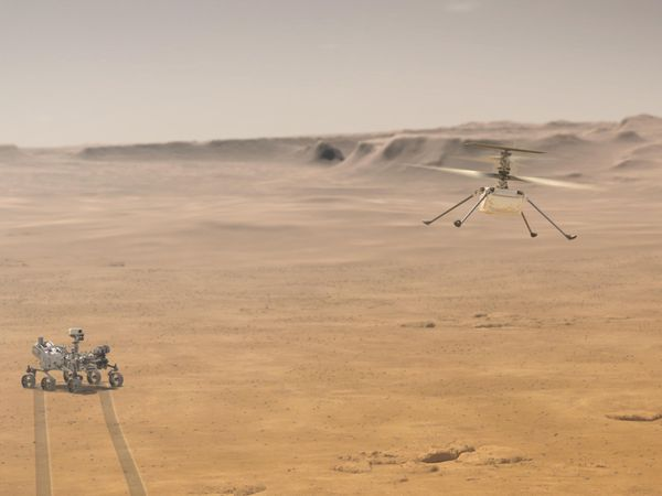 Nasa's Ingenuity helicopter