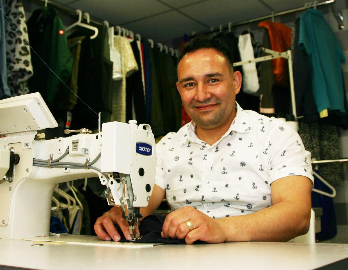 Martin Sarfraz of Shrewsbury Top Tailoring