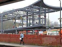 Giant crane set for return visit in Telford footbridge operation