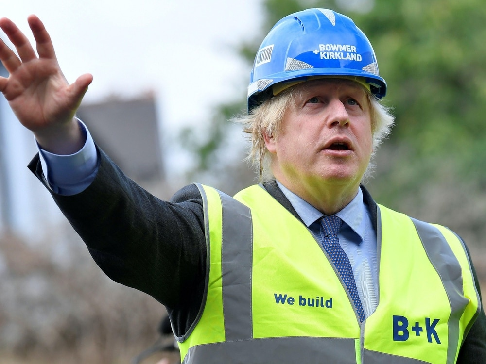 UK's Johnson pledges 'Rooseveltian' spending boost after COVID hit