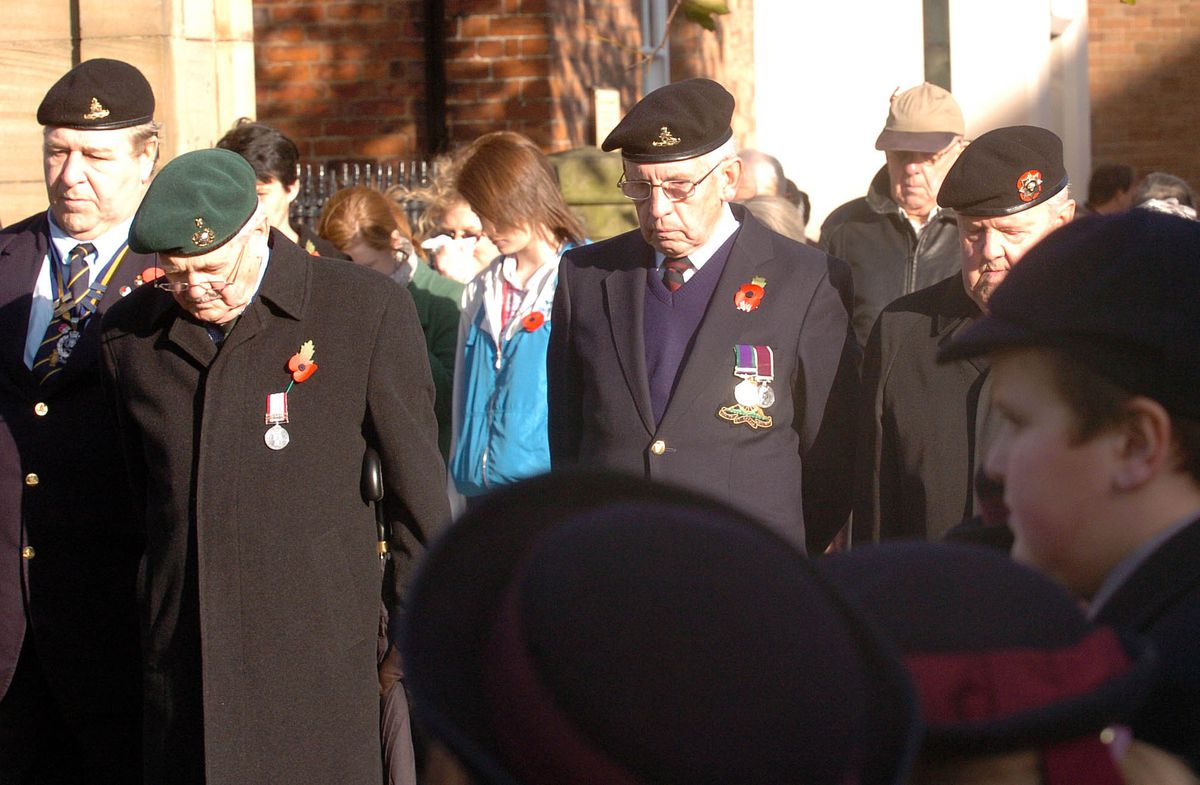 The major parade usually draws thousands to pay their respects