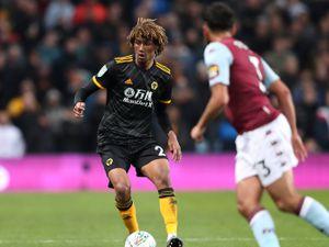 Dion Sanderson of Wolverhampton Wanderers.