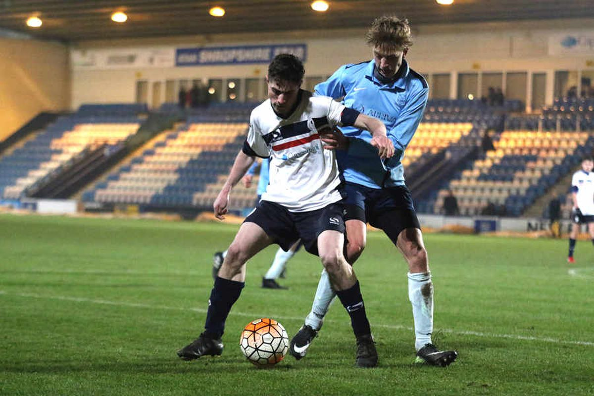 AFC Telford U18s cruise into Shropshire Youth Cup semi-finals