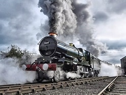 Clun Castle back in service – steam train named for Shropshire landmark makes triumphant return