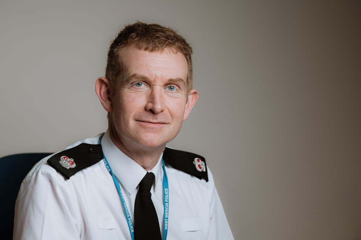 Chief Supt Paul Moxley