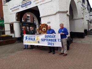 Bridgnorth Lions members John Woodfield, Peter Morford, Ken 'The Lion' Richardson, John White and Richard Wills