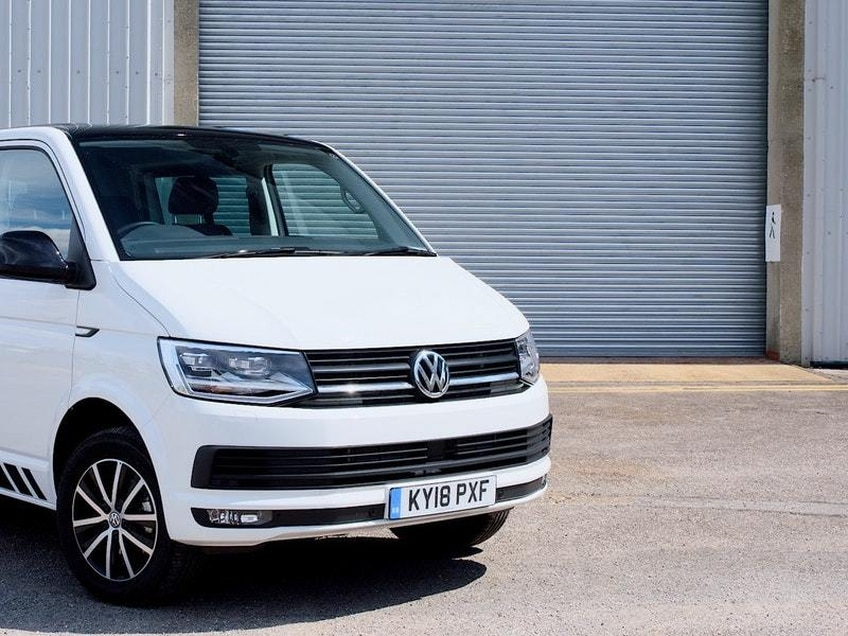 It's a busy time for the Volkswagen Transporter Kombi
