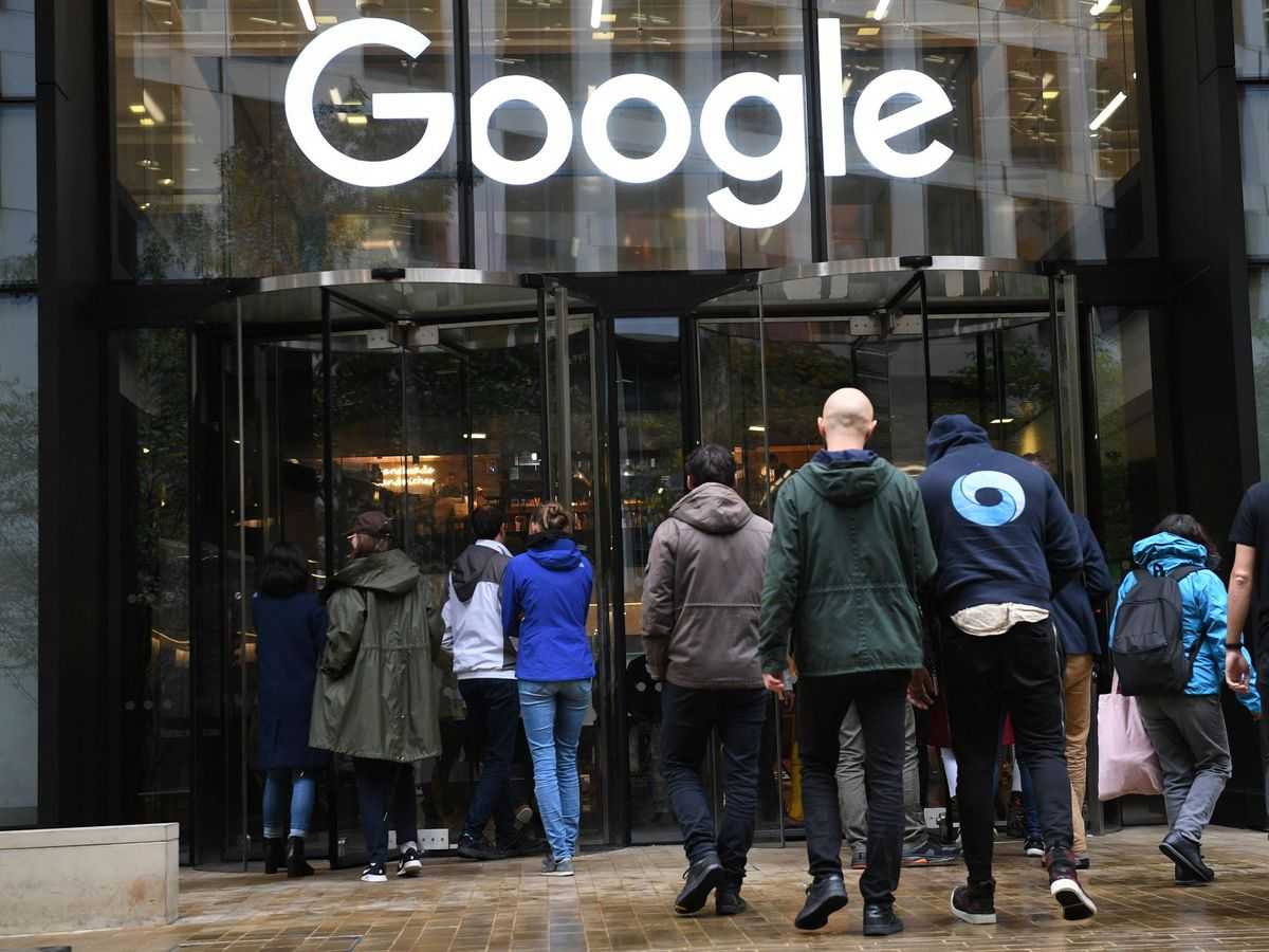 Google's London offices